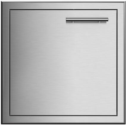 XOG24SDL 24″ Single Access Door with Left Hinge  304 Stainless Steel Construction and Soft Close Door in Stainless