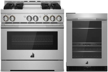 Jenn-Air  1169129 Kitchen Appliance Package Stainless Steel, main image
