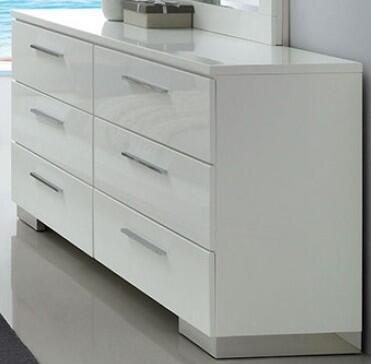 Furniture of America Christie CM7550D Dresser White, CM7550D