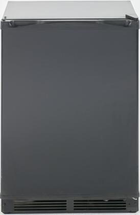 """RM52T1BB 24"""" Energy Star Compact Refrigerator with 5.2 cu. ft. Capacity Full Width Chiller Compartment Glass Shelf Gallon Door Storage Crisper"""