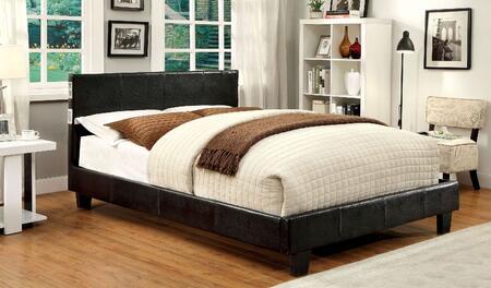 Furniture of America Evans CM7099EXEKBED Bed Brown, 1