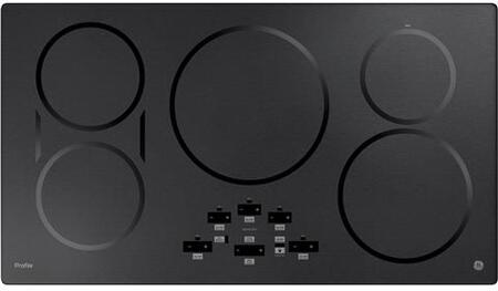 GE Profile  PHP9036BMTS Induction Cooktop Black Stainless Steel, Main Image