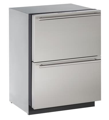U-Line Modular 3000 U3024DWRS00A Drawer Refrigerator Stainless Steel, 1