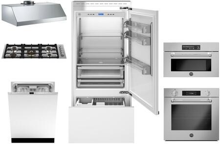 Bertazzoni  1394564 Kitchen Appliance Package Panel Ready, Main image