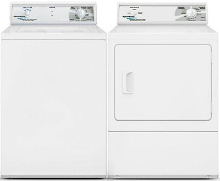 Speed Queen  963055 Washer & Dryer Set White, 1