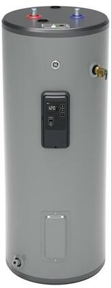 30T10BLM 30 Gallon Smart Electric Water Heater with Two 5500 Watts Heating Elements  Built-In WiFi and Inlet Tuve in - GE GE30T10BLM