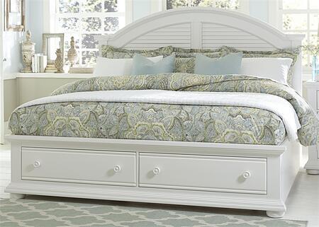 Liberty Furniture Summer House I 607BRQSB Bed White, Main Image