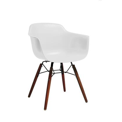 Design Lab MN Grazia LS9341WHTWAL Dining Room Chair White, 8d8d1cbf ab64 4d1a a850 c10842c42161