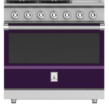 Hestan KRG364GDNGPP Freestanding Gas Range Purple, KRG364GDNGPP Gas Range