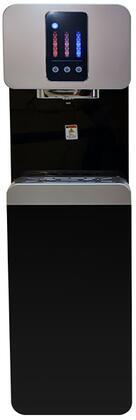 International H2O H2O1500PBUF Water Dispenser Black, H2O1500PBUF Front View