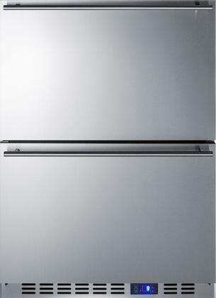 Summit Classic CL2R248 Drawer Refrigerator Stainless Steel, Main Image