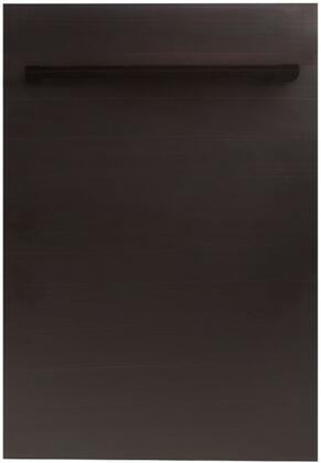 DW-ORB-H-18 18″ Fully Integrated Dishwasher with 16 Place Settings  3 Mesh Filters  40 dBA  EcoWash Technology  Energy Star Compliant  in Oil Rubbed