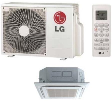 LG  LC180HV Single-Zone Mini Split Air Conditioner White, Main Image