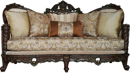 Acme Furniture Devayne 50685 Stationary Sofa White, 1
