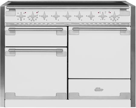 AGA Elise AEL48INWHT Freestanding Electric Range White, Main Image