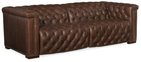 Hooker Furniture MS Series SS43415RLPPH089 Motion Sofa Brown, Silo Image