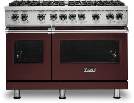 Viking 5 Series VGR5488BKALP Freestanding Gas Range Red, VGR5488BKALP Gas Range
