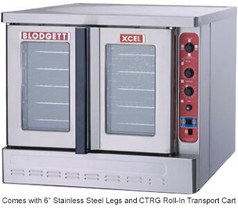 Blodgett XCEL DFG100XCELRIS Commercial Convection Oven Stainless Steel, Main Image