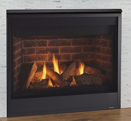 Majestic Quartz QUARTZ36IN Fireplace Black, Main Image
