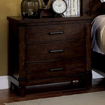 Furniture of America Bianca CM7734N Nightstand Brown, Main Image