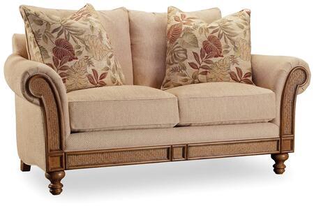 Hooker Furniture Windward Windward Dart Honey Loveseat