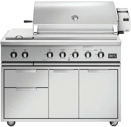 DCS 7 Series 846226 Liquid Propane Grill Stainless Steel, 1