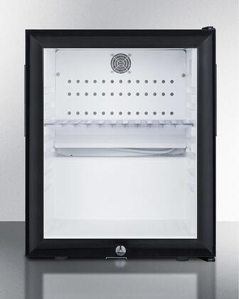 Summit  MB13G Compact Refrigerator Black, MB13G Compact Minibar