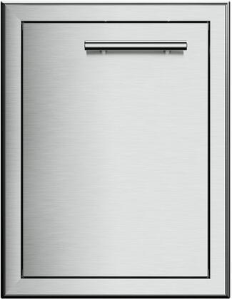 XOG18SDL 18″ Single Access Door with Left Hinge  304 Stainless Steel Construction and Soft Close Door in Stainless