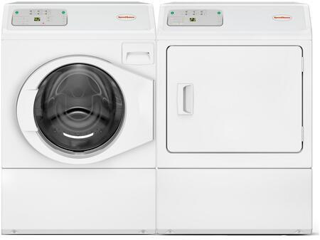 Speed Queen  963517 Washer & Dryer Set White, 1