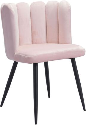 101523 Adele Chair Pink  (Set of
