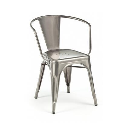 Design Lab MN Dreux LS9001GUN Dining Room Chair Gray, 46ae36f4 b580 4cc2 b225 02b7eed8a7df
