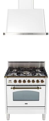 Ilve  1312660 Kitchen Appliance Package White, Main Image
