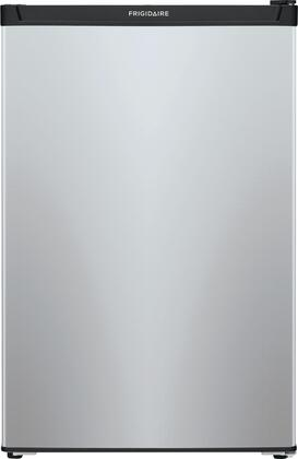 Frigidaire 4.5-cu ft Freestanding Compact Refrigerator with Freezer Compartment Silver Mist ENERGY STAR