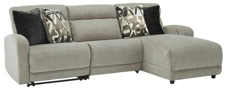 Signature Design by Ashley Colleyville 54405584697 Sectional Sofa Gray, 54405 58 46 97 SW