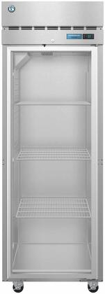 F1A-FG 28″ Steelheart Series One Section Full Glass Door Reach-In Freezer with 23.1 cu. ft. Capacity  3 Adjustable Shelves  4″ Casters and LED