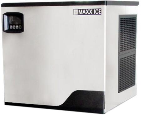 MIM360NH 22″ Narrow Modular Ice Maker with 361 lbs. Daily Ice Production  Stainless Steel Exterior and Hinged Front Panel in Stainless