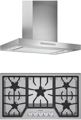 Thermador Masterpiece 1071268 Kitchen Appliance Package Stainless Steel, main image