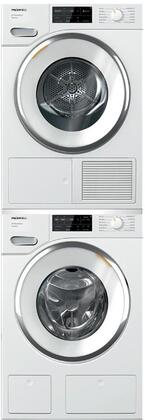 Miele  1447677 Washer & Dryer Set White, 1