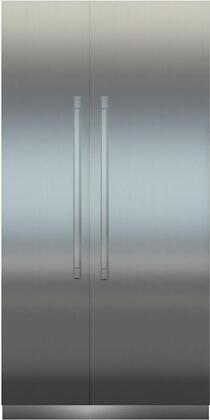 Liebherr Monolith 999212 Column Refrigerator & Freezer Set Stainless Steel, Monolith Series 48 Inch Built In Counter Depth Side by Side Refrigerator