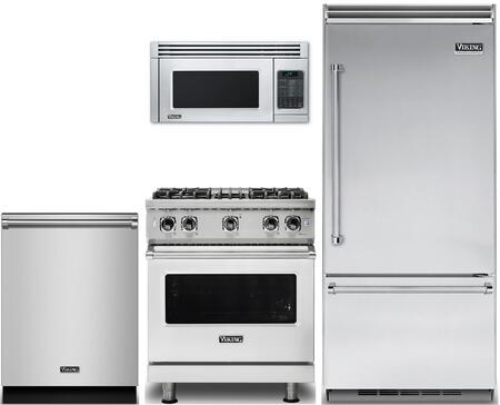 Viking 874132 Kitchen Appliance Package & Bundle Stainless Steel, main image