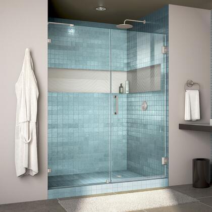 DreamLine  SHDR2360720004 Shower Door , Unidoor Lux Shower Door RS30 30D 30P 04 Blue Tile