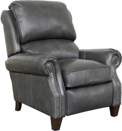 Churchill Collection 37″ 74440549492 Recliner with Brass Nail Head Treatment and Rolled Arms  All Leather in Wrenn