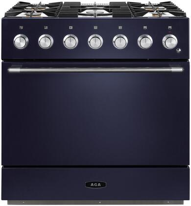 AMC36DF-SKY 36″ Mercury Dual Fuel Natural Gas Range with 4.5 cu. ft. Capacity  Dual Broiler System  5 Sealed Solid Brass Burners  7-mode