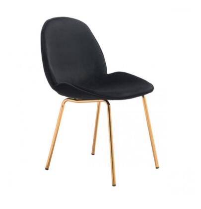 Zuo Siena 101290 Dining Room Chair Black, 101290 Front