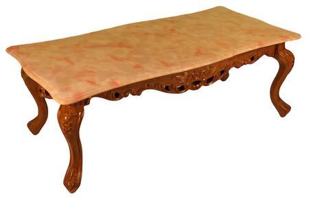 J. Horn CF98RB3SET Living Room Table Set Rose, 1