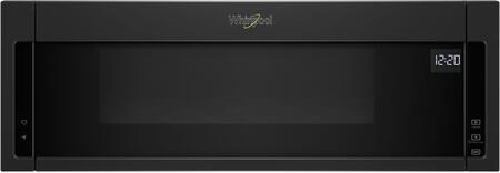 Whirlpool WML55011HB Over The Range Microwave Black, Main Image