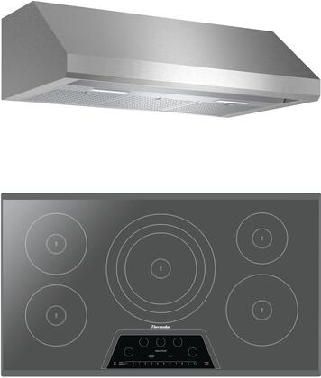 Thermador  1071049 Kitchen Appliance Package Stainless Steel, main image