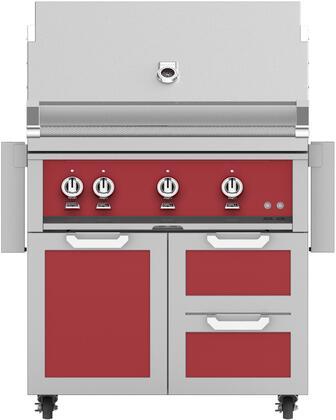 Hestan  851366 Liquid Propane Grill Red, Main Image