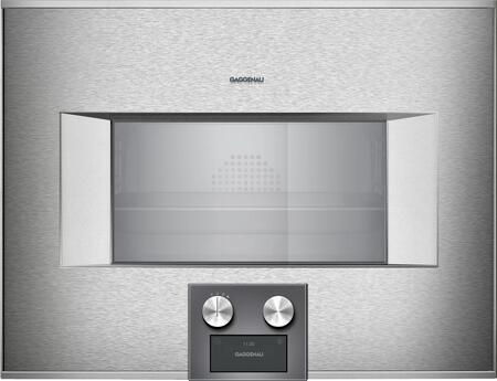 Gaggenau 400 Series BS475612 Single Wall Oven Stainless Steel, Main Image