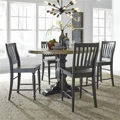 Liberty Furniture Harvest Home 879DR5GTS Dining Room Set Brown, 879 dr 5gts Main